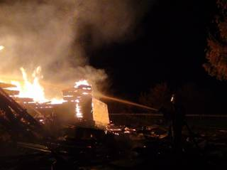 На Западной Украине дотла сгорела вековая церковь