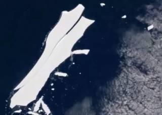 Ученые рассказали, как почти «умер» самый большой айсберг в мире