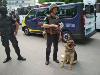 В Киеве проходят учения. Полиция просит не паниковать
