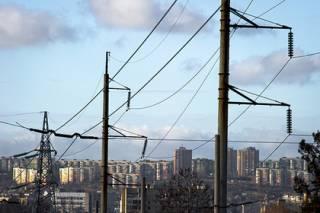 В Крыму вырубилось электричество
