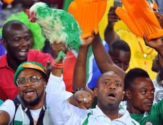 ЧМ-2018 в России: нигерийские болельщики попросили разрешить им проносить на стадион живых кур