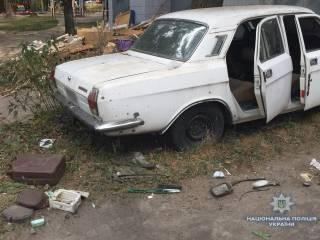 В киевском спальнике дети подорвались на старом автомобиле