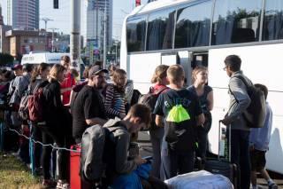 В Киеве водитель автобуса, перевозившего школьников, умер на ходу