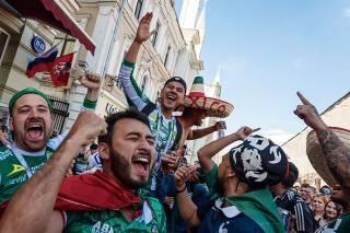 Мексиканцы устроили землетрясение, празднуя гол своей команды на Чемпионате мира по футболу