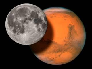 Ученые в очередной раз нашли доказательства существования воды на Луне. А на Марсе — еще и жизни