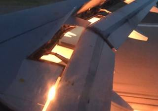 ЧМ-2018: у сборной Саудовской Аравии при посадке загорелся самолет