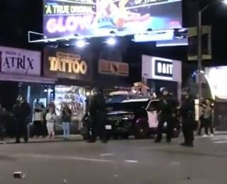 Фанаты застреленного американского рэпера устроили беспорядки в Лос-Анджелесе