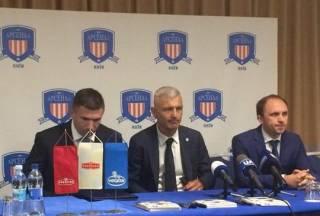 Известный в прошлом итальянский нападающий возглавил киевскую футбольную команду