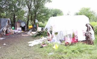 Стали известны подробности об организации, члены которой устроили кровавый погром в лагере ромов