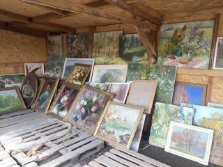 Водитель «Газели» пытался вывезти из ОРДЛО коллекцию картин на 3,5 млн гривен