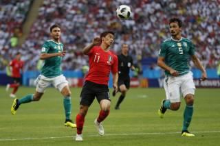 ЧМ-2018: сенсационно проиграв корейцам, Германия покидает Россию