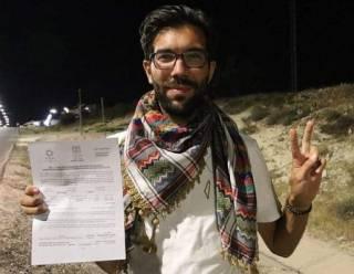 Израильские власти не пустили на Западный берег реки Иордан шведского правозащитника, который добирался туда пешком почти год