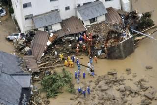 В Японии началось жуткое наводнение: число жертв уже исчисляется десятками