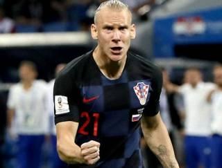 Хорватского защитника могут наказать за слова «Слава Украине!» после победы над Россией, – СМИ