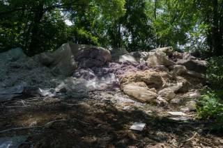 Мешки с миллионами гривен найдены в лесу на Днепропетровщине