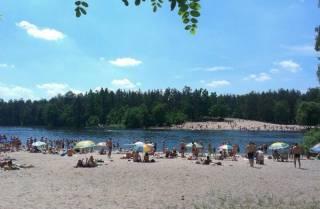 Как выяснилось, купаться на всех киевских пляжах – временно небезопасно