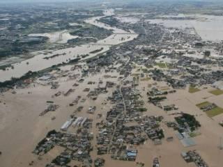 Наводнение в Японии: сотни жертв, миллионы людей остались без крыши над головой