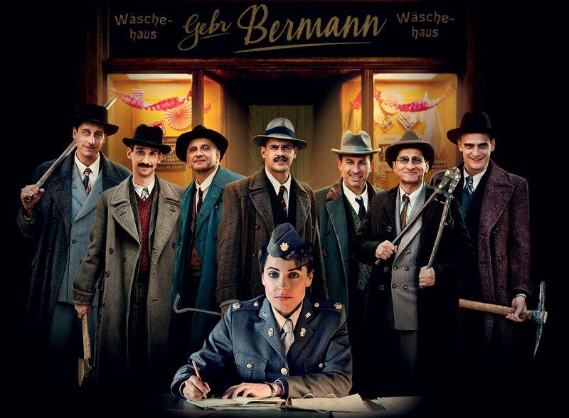 В украинский прокат выходит авантюрная ретро-комедия «Однажды в Германии»