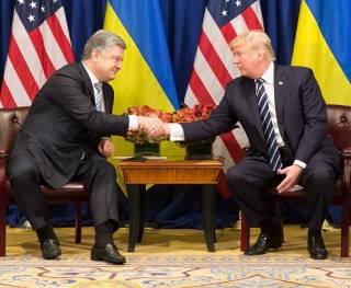Порошенко рассказал о своей встрече с Трампом в Брюсселе
