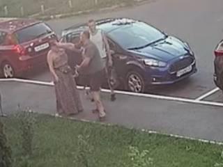 Под Киевом лидер местного УКРОПа прямо на улице избил женщину