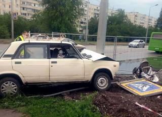 Кошмарное ДТП в Харькове: маленький ребенок умер, водитель сбивший его - задержан