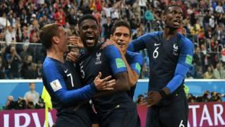 Финал ЧМ-2018 уже установил рекорд XXI века, а Хорватия пока проигрывает