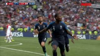 Франция обыгрывает Хорватию и становится Чемпионом мира
