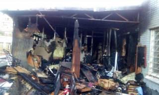Во время пожара в киевском хостеле пострадали шесть человек