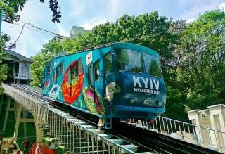 Киевский фуникулер подорожал и тут же закрылся до конца лета