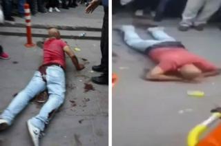 В Турции мужчина прямо на улице кастрировал маньяка, который приставал к его дочери