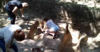 Археологи нашли на Черниговщине уникальное семиярусное древнее кладбище