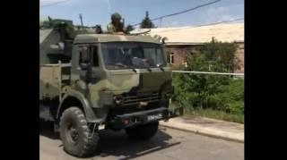Российские военные устроили беспорядочную стрельбу в армянской деревне, после чего долго извинялись