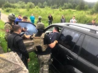Во Львовской области эпично задержали мэра-взяточника