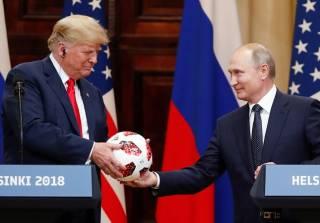 Мяч, подаренный Трампу Путиным, тщательно проверила служба безопасности Белого дома