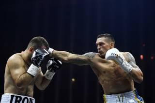 Александр Усик стал первым победителем Всемирной боксерской суперсерии. И не только