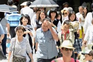 В Японию пришла смертельная жара – погибли десятки людей