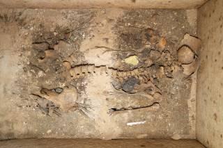 Во время реставрационных работ греческие археологи наткнулись на уникальную гробницу