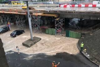 Грандиозный потоп в Киеве. Реакция соцсетей