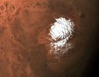На Марсе обнаружили гигантское соленое озеро