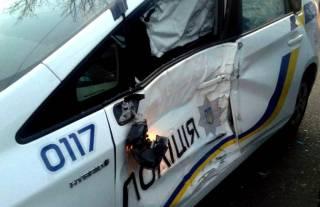 Как оказалось, украинские полицейские умудрились разбить каждый шестой свой автомобиль