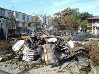 Специалисты из Эстонии обнаружили страшную находку на пепелище сгоревшего в прошлом году детского лагеря