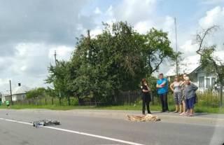 Пьяный депутат задавил пожилую велосипедистку на Львовщине