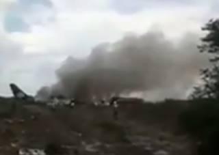 В Мексике разбился самолет, но все пассажиры и экипаж чудом выжили