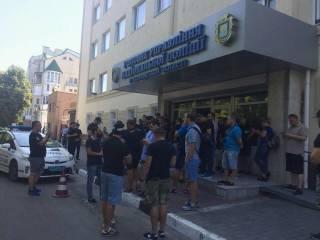 В Херсоне устроили погром в здании облпрокуратуры