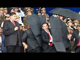 В Венесуэле совершено покушение на Николаса Мадуро. Появилось видео момента взрыва