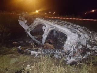 В киевском спальнике водитель Mercedes сгорел заживо после того как полицейские отказались ему помочь, – СМИ