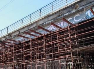 В Киеве потихоньку началась реконструкция Шулявского моста