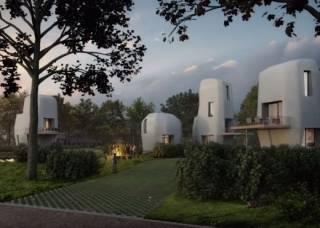 В Голландии началось строительство 3D-города