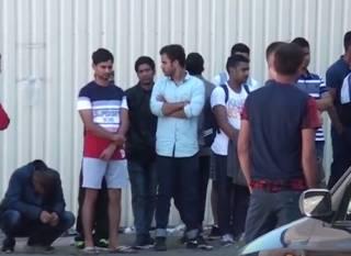 После ЧМ-2018 из России в Киев приехали странные «футбольные болельщики» – их задержали на Троещине