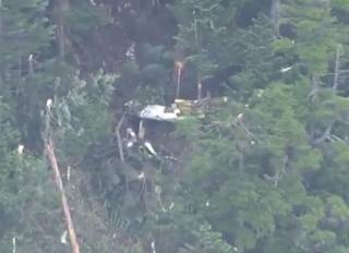 В горах Японии разбился спасательный вертолет – есть погибшие